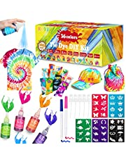 Tie Dye Kit, 36 Colors DIY Shirt Dye Kit for Kids, Adults, User-Friendly, Add Water Only Indoor and Outdoor Activities Supplies DIY Dyeing Kit, All in One Creative Tie-Dye Kit Perfect for Party Group