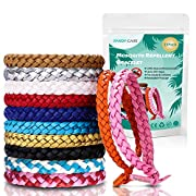 Mosquito Repellent Bracelet, PandyCare 15 Pack Mosquito Bands for Adults, Kids & Babies – Premium Quality, DEET-Free…
