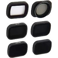 Camerafilter, lensfilterset CPL/MCUV/ND8/ND16/ND32/ND64-accessoire, ND-dimfilter, geschikt voor DJI Pocket 2-camera…