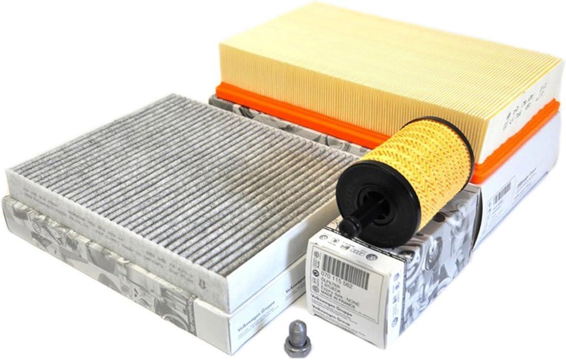 Dorigine VW T5/Paquet dinspection 2.5/TDI tous les mod/èles Filtre /à air Filtre /à huile Filtre /à pollen Charbon actif