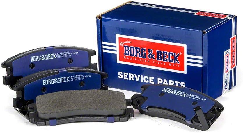 Borg /& Beck BBP1500 Bremsbelagsatz 4-teilig