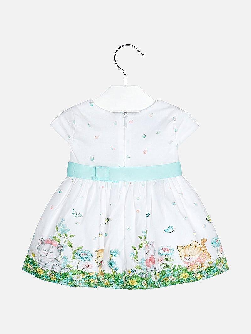 Amazon.com: Mayoral - Vestido de gato estampado para bebé ...