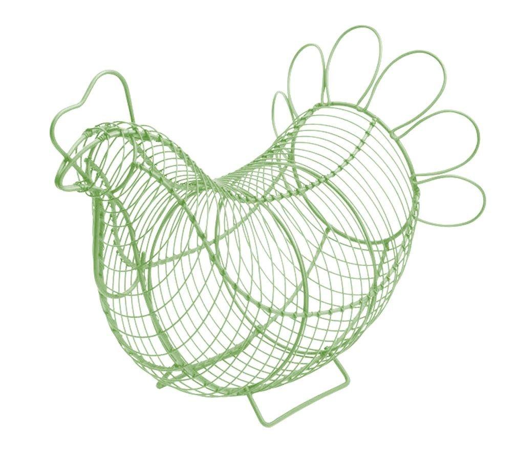 Eddingtons Chicken Egg Basket (Sage Green)