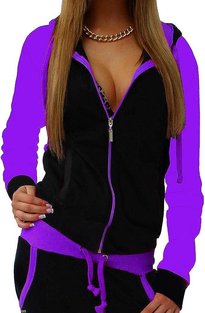 JiXuan Damen 2 ST/ÜCKE Plus Size Trainingsanzug Sets Outfits Hoodie Sweatshirt und Jogginghose Sweatsuits