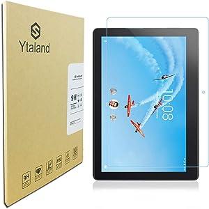 Ytaland Tempered Glass for Lenovo TAB E10 (TB-X104F) Tablet 10.1 inch, Anti-Fingerprints Thin Screen Protector for Lenovo TAB E10 Tablet