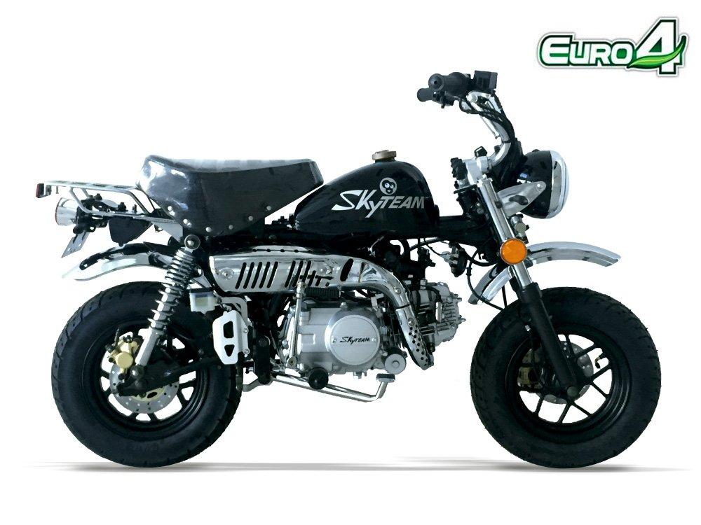 Mini Bike - Monkey Skyteam - 125 - Black: Amazon co uk: Car