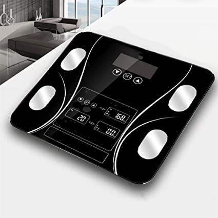 L&J Alta Precisa Báscula De Baño Digital,Báscula Bluetooth Inteligente Grasa Corporal Báscula Capacidad De