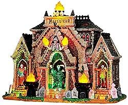 Lemax 35491 ALL HALLOWS MAUSOLEUM Spooky Town Lighted Building Halloween Decor
