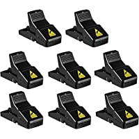 8 Pack Mouse Trap, Reusable Mouse Traps Indoor for Small Mice and Mouse, Sensitive, Safe and Quick, Effective Indoor…