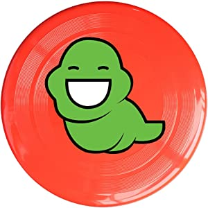RCINC Comic Logo Bug Outdoor Game Frisbee Light Up Flying RoyalBlue