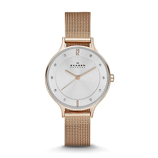 e725fddb9da Buy Skagen End-of-Season Anita Analog Silver Dial Women s Watch - SKW2151  Online at Low Prices in India - Amazon.in