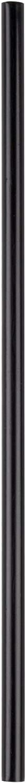 | [1000 Bulk Pack] 5 Inch Plastic Sip Stirrers/Straws - Disposable Stir Sticks for Coffee & Cocktail - Black: Swizzle Sticks