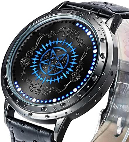 Wildforlife Anime Kuroshitsuji Black Butler Faustian Contract Collector's Edition Touch LED Watch