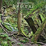 Indiana Wild & Scenic 2020 7 x 7 Inch Monthly Mini Wall Calendar, USA United States of America Midwest State Nature