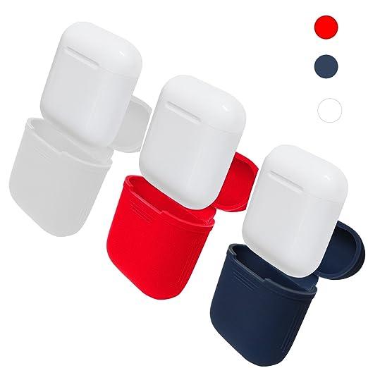 12 opinioni per Apple AirPods Cuffie caso iBetter AirPods Cuffie Kit di protezione Custodia in