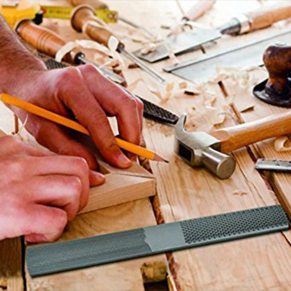 Lin-Tong Holzfeile Professional 200Mm Halbrund Holzbearbeitungswerkzeug Metall Holzwerkzeug Multifunktion zum Sch/ärfen von Holz