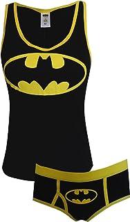 f1d2a55a4 DC Comics Batman Glow In The Dark 3 PK Panties (Large) at Amazon ...