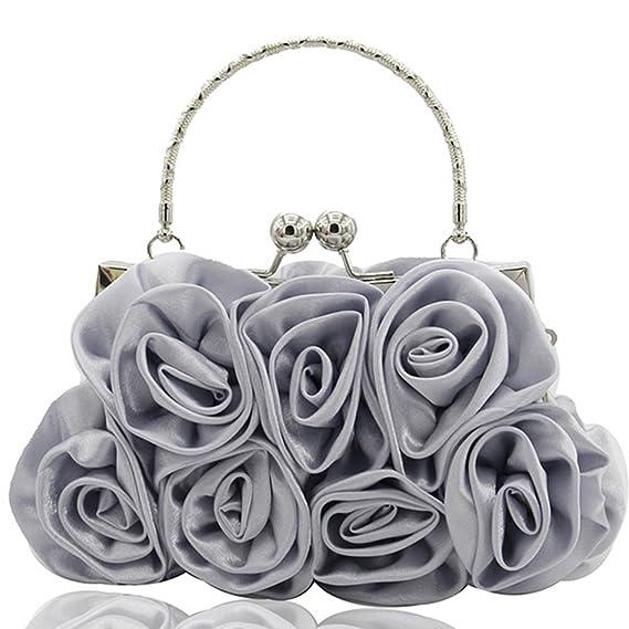 4504a200925dcf Handtasche Clutch Bag Damen ♥ Loveso♥ Schultertasche Abendtasche Party  Partytasche Ledertasche Damen Damentasche Klassiker Elegant
