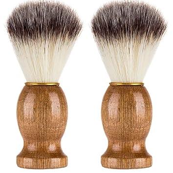 Brochas de Maquillaje, beikoard hombre afeitado afeitado oso Best – Brocha de afeitar de pelo