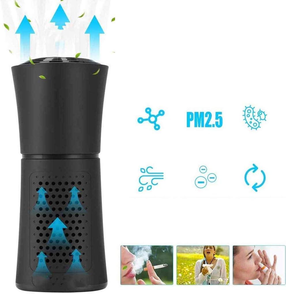 Mini purificador de aire purificador de aire compacto portátil ...