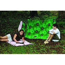 JOHN DEERE Youth Fleece Sleeping Bag, Pink Camouflage