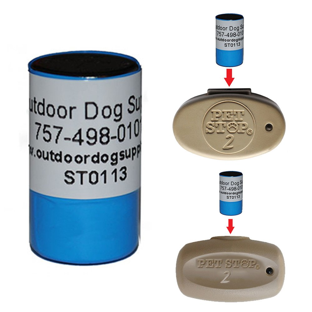 6 Volt Lithium Dog Collar Replacement Pet Stop Battery Ultra Elite & Ulite Elite2 For Invisible Dog Fence Systems