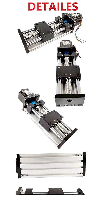 Antrella 180mm Effektiver Hub SFU1605 RM1605 Kugelgewindetrieb mit 23 Nema 57 Schrittmotor Fr/äsmaschine GGP Serie Linearf/ührung Schiebetisch f/ür CNC und 3D Drucker