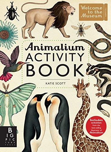Animalium Activity Book [Big Picture Press] (Tapa Blanda)