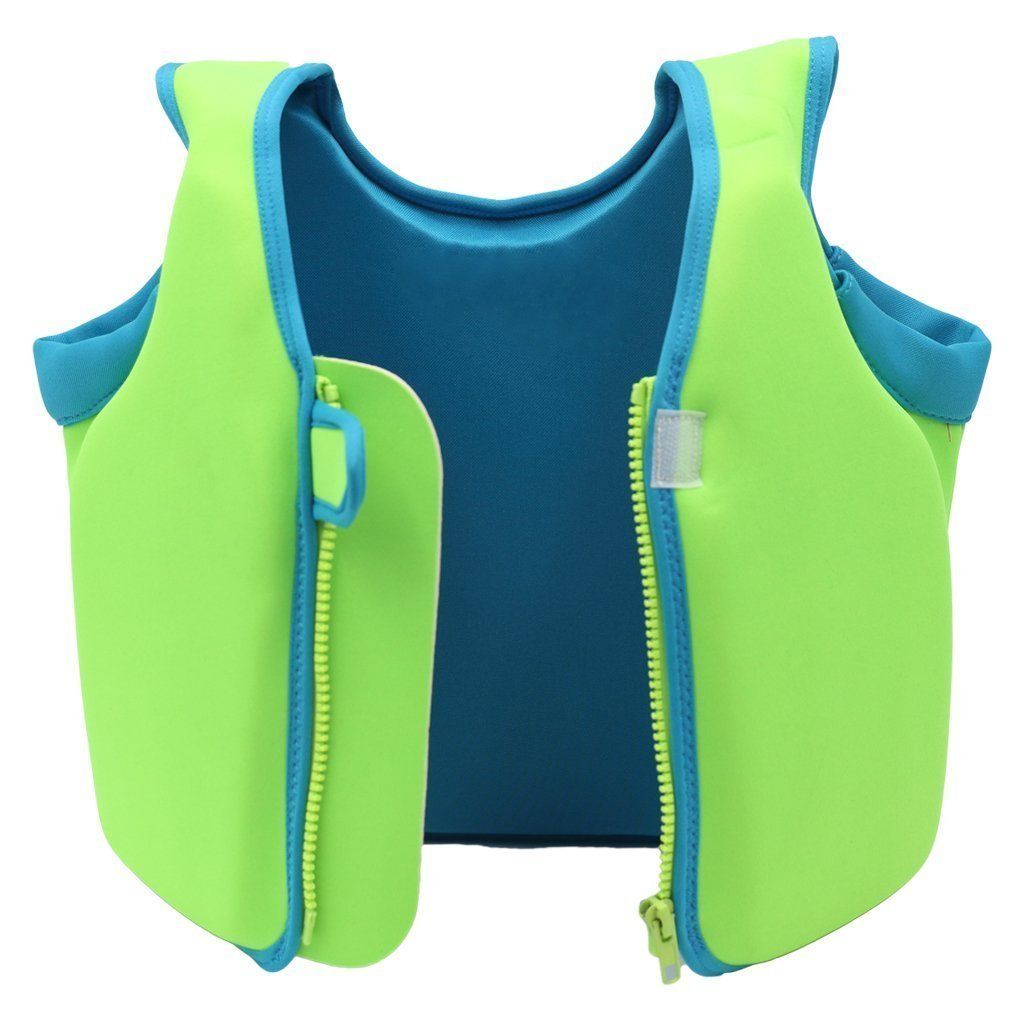 NEWBEGIN Children Swim Vest Kids Floatation Jackets Toddler Learn-to-Swim for Boys Girls (XL)
