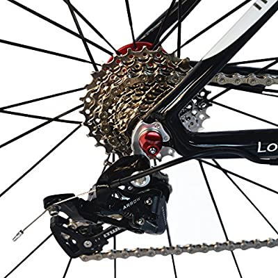 BEIOU Carbon Comfortable Bicycles 700C Road Bike Shimano TIAGR 4700 210S or LTWOO 210 Speed SRAM Brake Complete 18.8 lb Hybrid Bike Toray T800 Fiber CB0012B