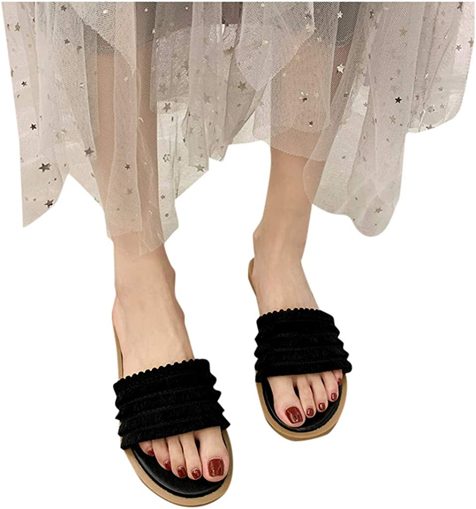 Sandals for Women Wide Width,Fudule New