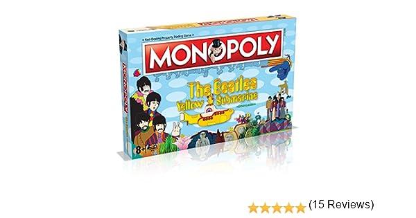 Winning Moves Beatles (The) Yellow Submarine - Monopoly Board Game Merchandising: Amazon.es: Juguetes y juegos