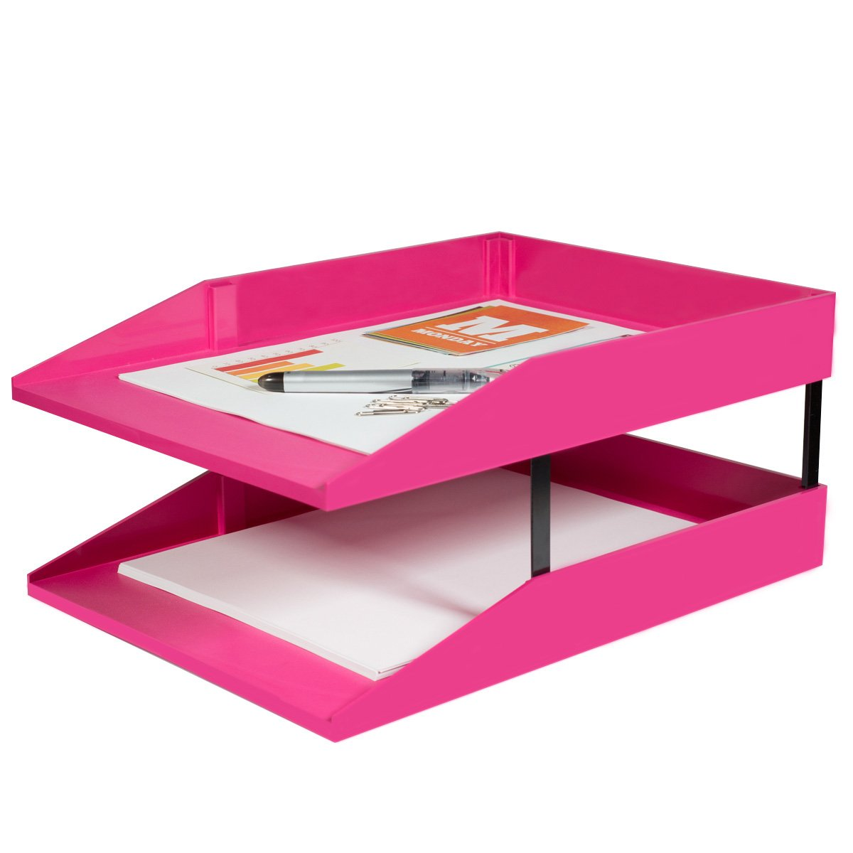 Amazon.com : Stackable Legal Desk Tray (Mojito) : Office Products