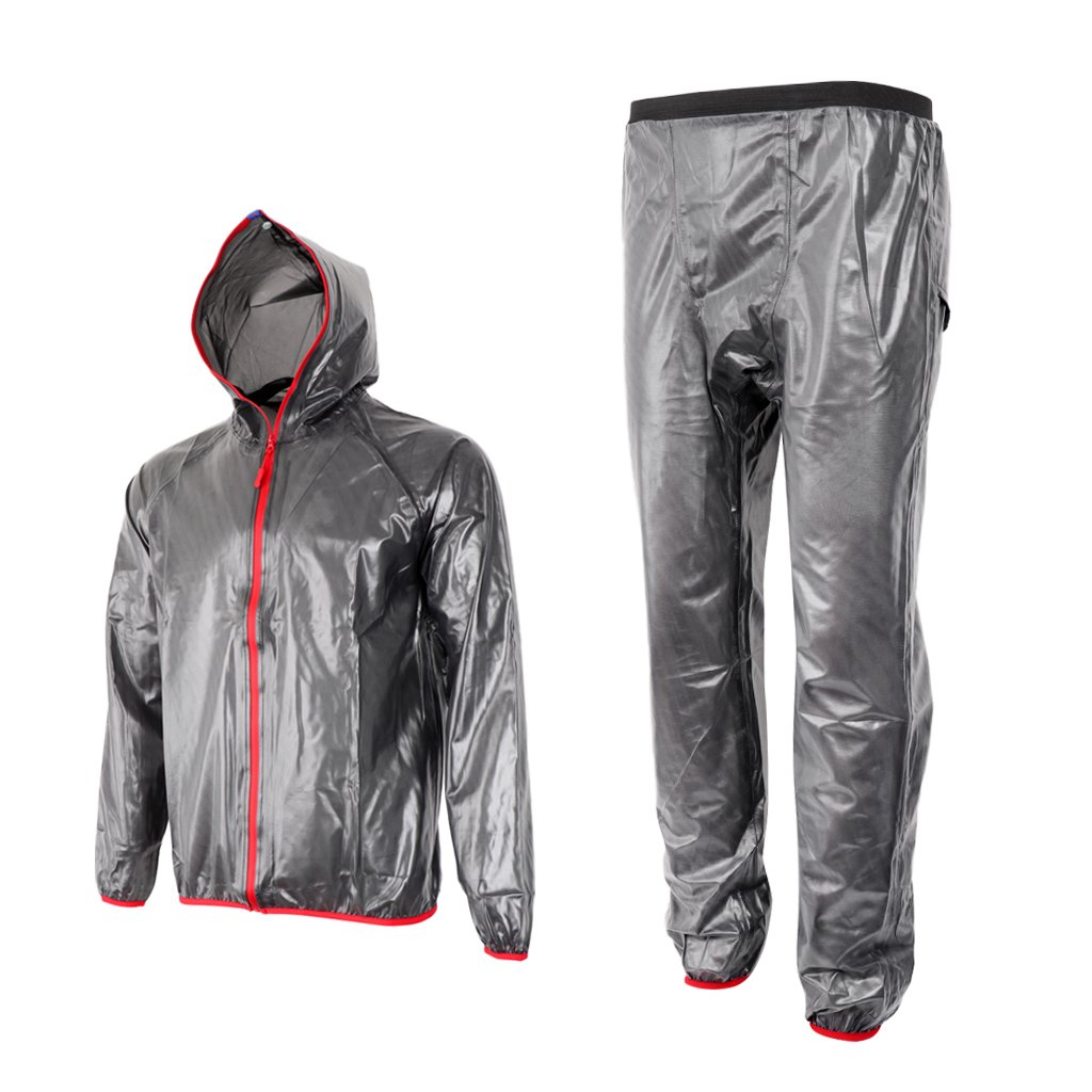 D DOLITY Outdoor Cycling Sportswear Raincoat Tops & Pants Motorcycle Riding Clothing Rain Suits