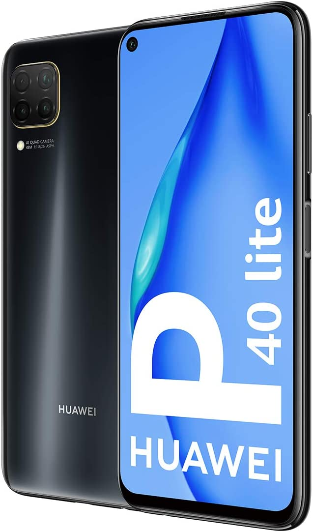 HUAWEI P40 Lite - Smartphone DS 6 GB 128 GB, Color Negro: Amazon ...