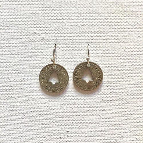 Bell Transit Token Earrings (PA)