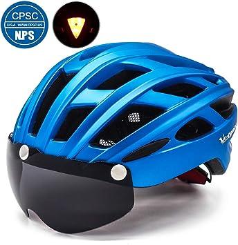 Amazon.com: VICTGOAL Casco de bicicleta para hombres y ...