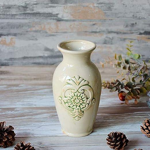 GYCC - Jarra de Agua Vintage Antigua, de cerámica, para jardín ...