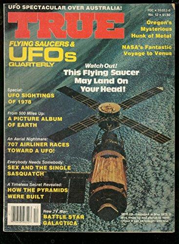 TRUE FLYING SAUCERS & UFO PULP-W/1979-BATTLESTAR GALACT VG/FN