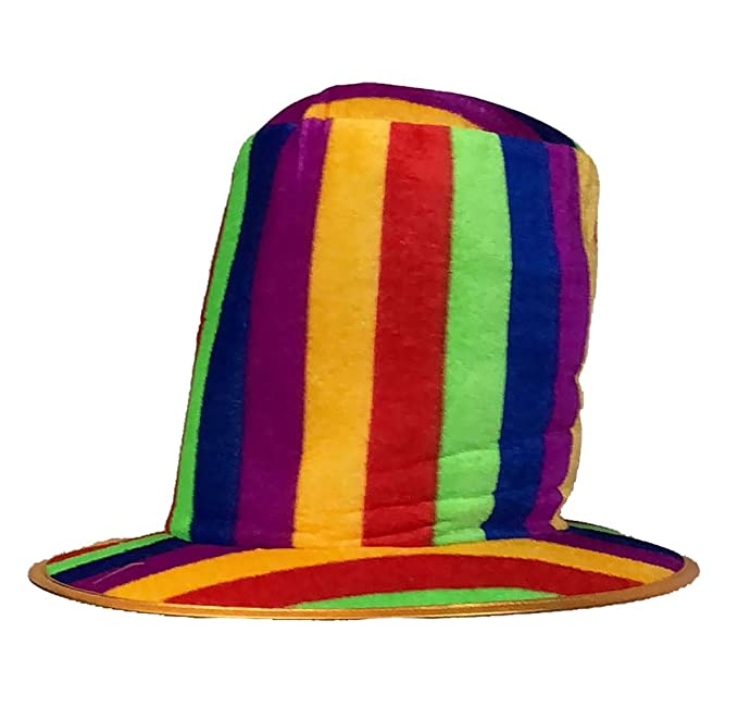 Unisex Adult Gay Pride Rainbow Cowboy,Sequin,Gangster Fancy Party Hat Accessory