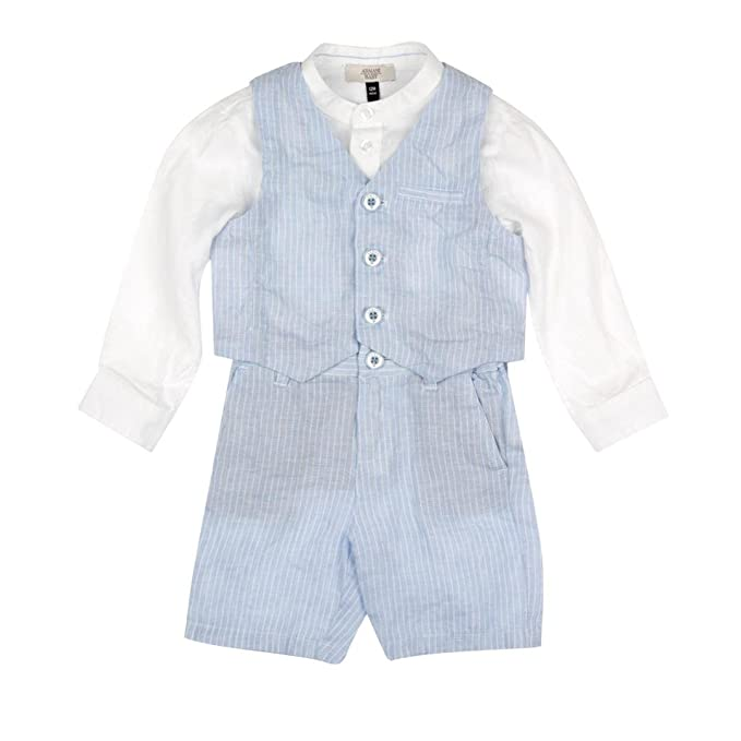 on feet shots of separation shoes best website Armani Baby Armani Junior Set Blue and White 18M: Armani ...