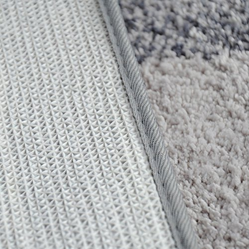 DIDIDD Super soft grey rug shaggy rug / comfortable and durable antibacterial 5080cm,4060Cm by DIDIDD (Image #3)