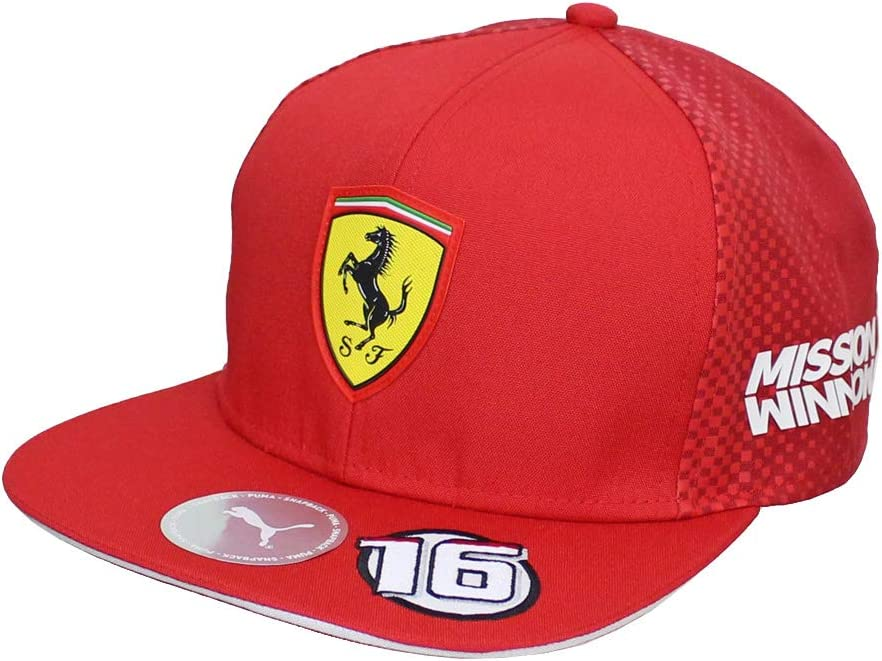 Scuderia Ferrari 2019 F1™ Charles Leclerc Gorra con Visera Plana ...
