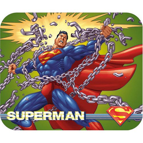 Superman Breaking Chains Mousepad