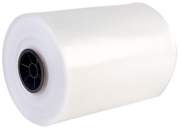 """Hudson Exchange LDPE Poly Tubing, 12"""" W x 1000' L, 2 Mil"""