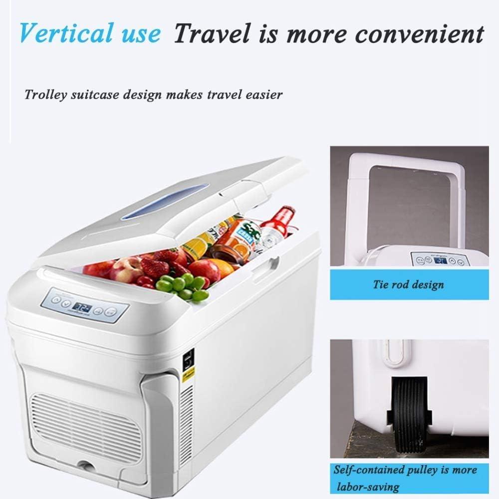 Electric Cool Box Refrigerador portátil con refrigerador CC / CA ...