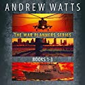 The War Planners Series, Books 1-3: The War Planners, The War Stage, and Pawns of the Pacific  Audiobook by Andrew Watts Narrated by Michael Pauley