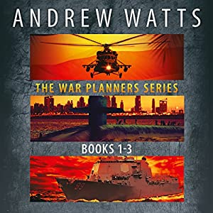 The War Planners Series, Books 1-3 Audiobook
