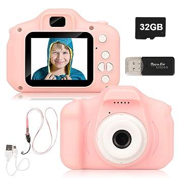 Amazon.es: Miunana Cámara de Fotos para Niños con 32GB ...