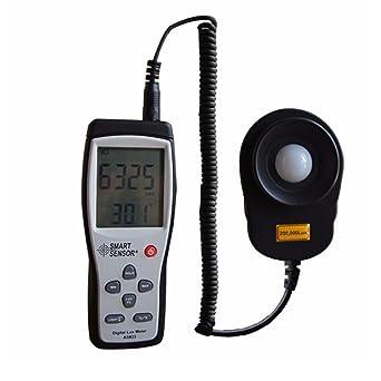 Digital Illuminance Light Meter 200,000 Lux Photometer Luxmeter High Precise